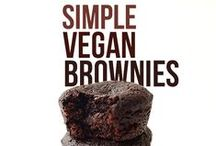 Eats: Brownies / Many of these recipes are Gluten-Free, Dairy-Free, Egg-Free and More #glutenfree #dairyfree #eggfree #gluten #dairy #egg #free / by Flo & Grace