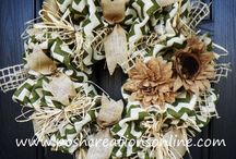 Wreaths / by Kristi Robertson