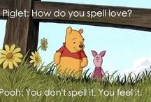 Winnie the Pooh love  ✿⊱╮