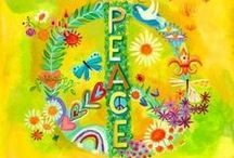 PEACE / Imagine……….. / by Rebecca Gibson