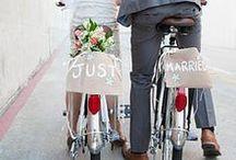 Bike Love! / Bike Theme Wedding Ideas!