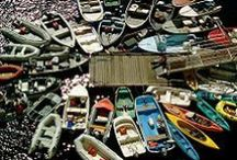 Boats, Boats & More Boats / Gotta take a boat to get to the Island! We love seeing the boats all around us