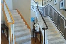 Staircase and entry makeover / Basic makeover of our staicase