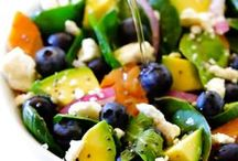 Simple Summer Salads / Create fresh simple meals in a flash this summer with these ideas!