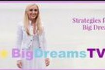 BigDreamsTV / Are you struggling to find time + space for your BIG DREAMS? Are you worried you're destined to always be a DREAMER and not the DOER? Do you want STRATEGIES for your BIG DREAMS? If the answer is YES. WELCOME!