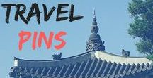 Travel Pins / Everything I like about traveling