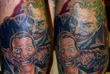 Comic Book/Sci-Fi Tatts / Pics of tattoos of comic book and sci/fi