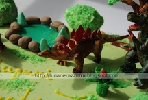 CAKE: Sugar paste - Pasta di zucchero - MMF ecc. / Tutti i tipi di dolci e torte decorate All types of cakes decorated / by Ipasticcidiluna