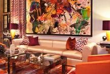 Trend Spotting | Modern Glamour / Trend Spotting Modern Glamourous Luxury Interiors in Design, Home Decor, Art, Accessories, Style and Fashion.