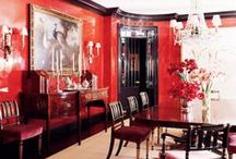Color Stories | Red / Trend Spotting Red Interiors in Design, Home Decor, Art, Accessories, Style and Fashion. Featured: Red Color Palettes