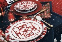 Design | Table Settings / Ideas and Inspiration for table settings in event design