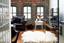 Trend Spotting | Industrial Chic / Trend Spotting Industrial Interiors in Design, Home Decor, Art, Accessories, Style and Fashion. Featured: Lofts, residential brick homes, industrial design