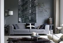 Color Stories | Grey / Trend Spotting Grey Interiors in Design, Home Decor, Art, Accessories, Style and Fashion. Featured: Grey Color Palettes