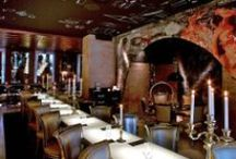 Design | Restaurants / Ideas and Inspiration for restaurant interior design. Features restaurant interiors from all over the world
