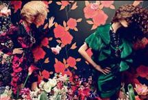Trend Spotting | Floral / Trend Spotting Floral Prints patterns in interiors, Design, Home Decor, Art, Accessories, Style and Fashion. Featured: Floral wallpaper, floral editorials