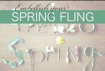 Spring Fling / Spring is here and it's time to update your accessory wardrobe!