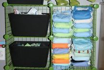 Cloth Diaper Organization