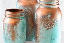 Colored Bottles/ Cans/ Lids