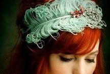 Fashion | Head Pieces / Featuring haute hats and head pieces