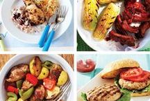 Recipes for the Grill / Grilled food is good food.