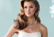 Embellish Jewelry with Mon Cheri Bridals Dresses / A collection of Embellish Jewelry featured with Mon Cheri dresses!