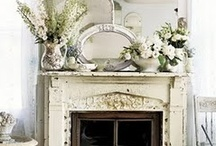fireplaces, mantels