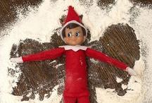 Elf on a Shelf / Fun Ideas for Elf on a Shelf.  Funny ways to pose your Elf on a Shelf #elfonashelf #elf