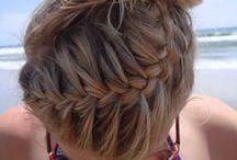 make up nails and hair : )