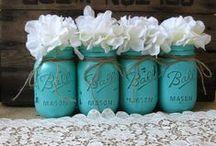 Flores + Mason Jars | Flowers + Mason Jars DIY