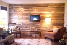 Items made from pallets! / Who knew there were so many things you could do with old pallets! NEVER throw an old pallet away! / by Kymberli