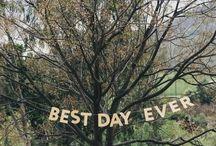 WEDDING INSPIRATION (ONE DAY) / by Charlene Charls