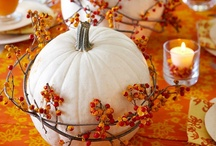 Thanksgiving / Thanksgiving Crafts, Recipes, and Decor. Ideas for hosting Thanksgiving Dinner. Fall and Autumn decor, party ideas and recipes.
