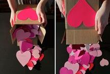 Valentine's Day / Valentine's Day Crafts, Recipes, Decor, and Gift Ideas. Lovely ideas and inspirations for St. Valentines Day