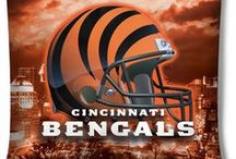 Cincy Bengals!!! / No matter where I travel to... I love these guys! / by Kymberli