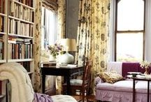 ღ Office..Den..Library ღ  / Ideas for the home office or den...and library. / by Lisa Coulter