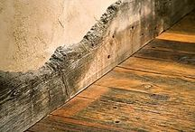 Reclaimed Wood / Bringing the history of wood indoors.  Uniquely yours.