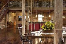 ღ Barn Homes ღ / Barns that have been transformed into beautiful homes... I love them.. so spacious!!! / by Lisa Coulter