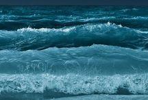 Oceans / Lots of water