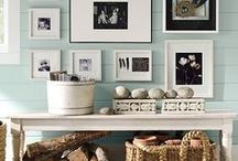If Walls Could Talk / How you dress your walls transforms a room. Find inspiration for your walls here--let's get creative!