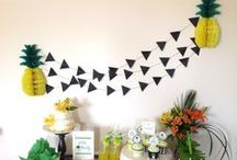 Piñas | Pineapples PARTY / fiesta | party