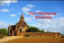 Highlights of Myanmar / Let these pictures inspire you to travel to Myanmar! The pictures follow our Myanmar itinerary.