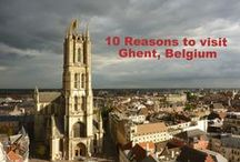 10 Reasons to visit Ghent, Belgium / Ghent is a rebel. Ghent is a party. Ghent is an architectural masterpiece.  You have to visit this wonderful Belgian city.