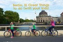 Berlin: 10 Great Things to Do (with your kids) / Berlin is an amazing city to visit, also with your children. The power of history, the iconic landmarks and the possibility to discover it all by bike. Let's go Berlin!