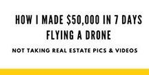 MAKE $$$$ DRONES / There are so many ways you can start a business and work for yourself flying your drone! Here is a board to inspire you to get out there and make tons of money with your drone! We make it easy with BUY NOW PAY LATER finance option as low as 25$ per month. Now what are you waiting for. https://www.dynnexdrones.com/