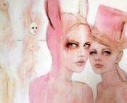 SOLD - Artwork / SOLD - Artwork by Artist Fiona Maclean #art #artforsale #sold #paintings #drawings #illustrations