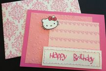 Make your own cards / I love making cards :) / by Chrissy Walsh