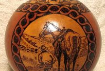 ART - Gourd Carving and Painting / by Bonka Perry