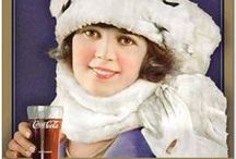 Coca Cola Advertising / From back in time when it was legal to drink it. / by Ms. Sadie