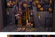 My little town of Halloween / by Hertzey Hertz