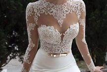 Wedding dresses..just bc they're beautiful! / I'm already married..but I still LOVE everything about weddings!! :) The dresses, to me, are all genuine, unique pieces of art... <3 / by Crystal Burton Tackett